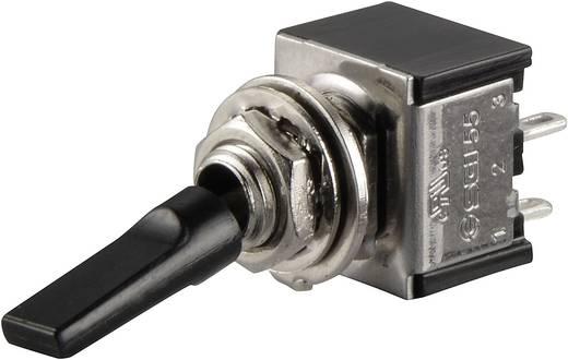 Kippschalter 250 V/AC 3 A 2 x Aus/Ein SCI TA201G1 rastend 1 St.