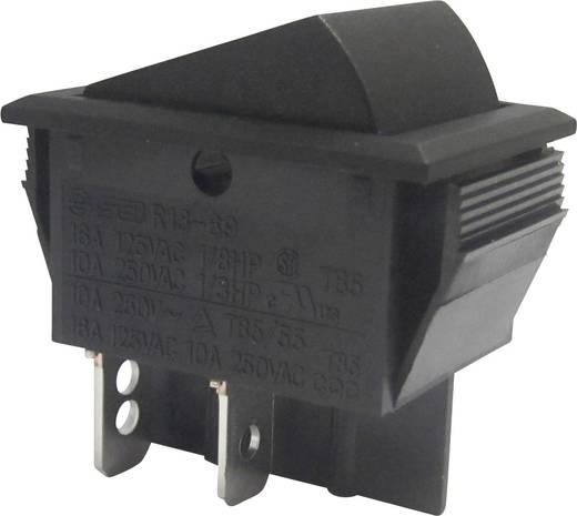 SCI Wippschalter R13-69A-01 250 V/AC 10 A 2 x Aus/Ein rastend 1 St.