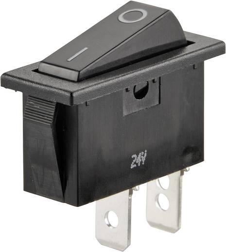 Wippschalter 24 V/DC 10 A 1 x Aus/Ein SCI R13-70A-01 rastend 1 St.
