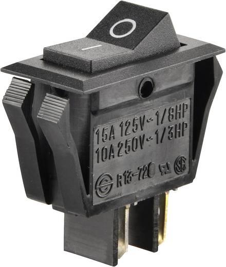Wippschalter 250 V/AC 10 A 1 x Aus/Ein SCI R13-72A-01 rastend 1 St.