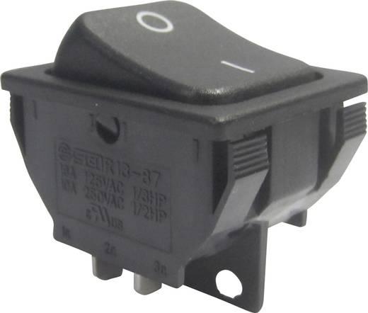 Wippschalter 250 V/AC 10 A 1 x Aus/Ein SCI R13-87A-02 rastend 1 St.