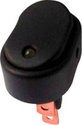 Kfz-Wippschalter 12 V/DC 30 A 1 x Aus/Ein rastend SCI R13-133L-SQ YELLOW 1 St.
