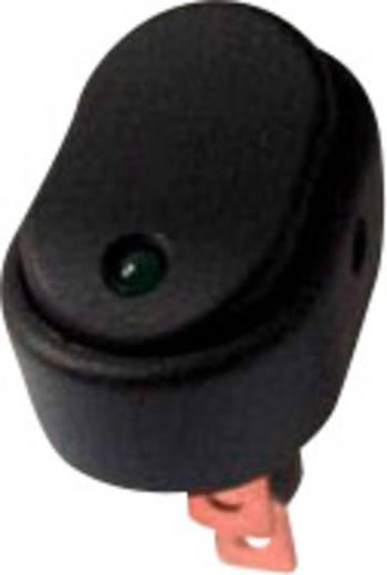 SCI Kfz-Wippschalter R13-133L-SQ GREEN 12 V/DC 30 A 1 x Aus/Ein rastend 1 St.