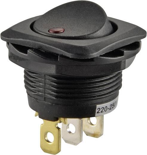 Wippschalter 250 V/AC 10 A 1 x Aus/Ein SCI R13-135B2-02 rastend 1 St.