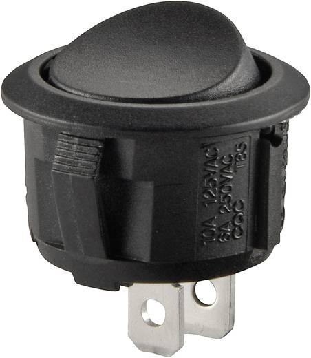 Wippschalter 250 V/AC 10 A 1 x Ein/(Aus) SCI R13-208E-02 tastend 1 St.