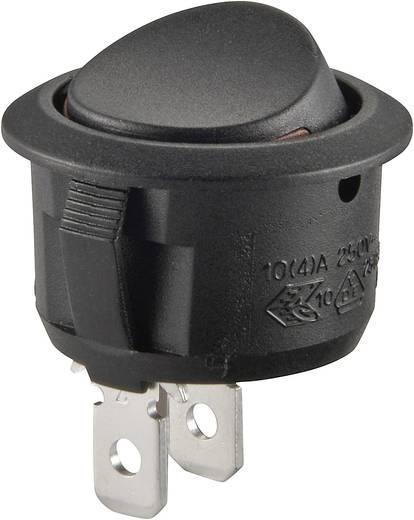 Wippschalter 250 V/AC 10 A 1 x Aus/Ein SCI R13-208A2-02 rastend 1 St.