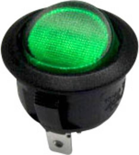 Wippschalter 250 V/AC 10 A 1 x Aus/Ein SCI R13-208B-02 GN rastend 1 St.