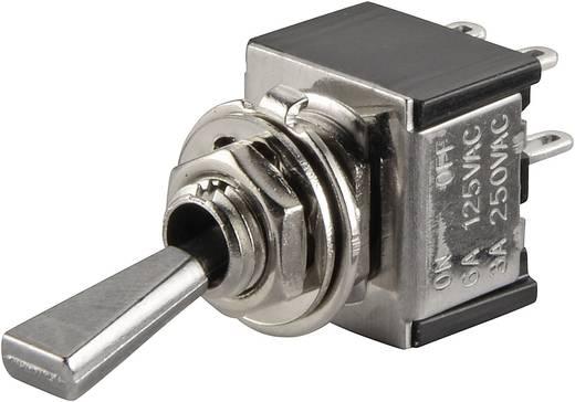 Kippschalter 250 V/AC 3 A 2 x Aus/Ein SCI TA201F1 rastend 1 St.
