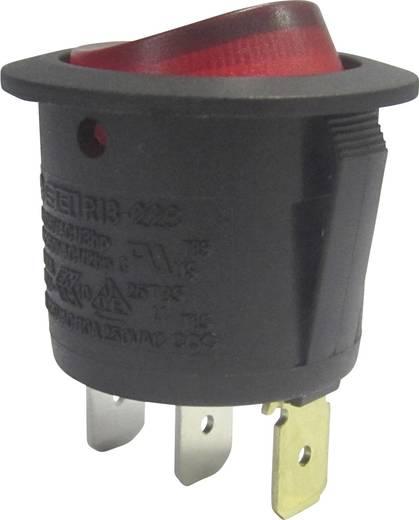 Wippschalter 250 V/AC 10 A 1 x Aus/Ein SCI R13-223B-01 R rastend 1 St.