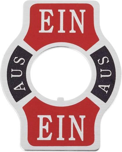 Bezeichnungsschild Aufdruck-Motiv EIN/AUS/EIN SCI Płytka wskaźnikowa włącz wyłącz włącz 1 St.