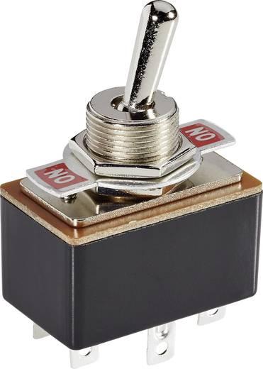 Kippschalter 250 V/AC 1.5 A 2 x Ein/Ein SCI R13-4-05 rastend 1 St.