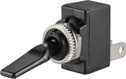 Interrupteur à levier pour l'automobile TRU COMPONENTS TC-R13-18B-SQ BLACK LEVER 1587666 12 V/DC 20 A 1 x Off/On permane