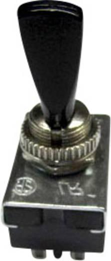 Kippschalter 250 V/AC 6 A 2 x Ein/Aus/Ein SCI R13-25E1-05 rastend/0/rastend 1 St.
