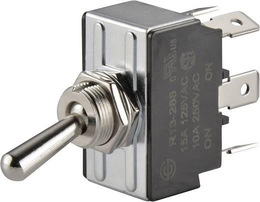 Kippschalter 250 V/AC 10 A 2 x Ein/Ein SCI R13-28B-01 rastend 1 St.