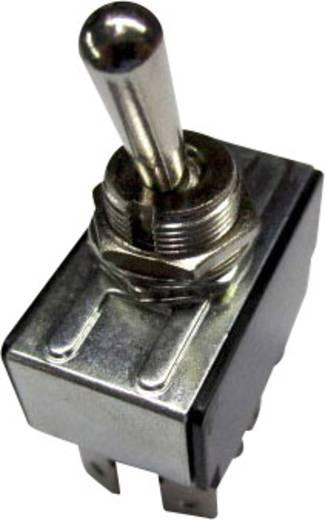 SCI R13-28E-01 Kippschalter 250 V/AC 10 A 2 x Ein/Aus/Ein rastend/0/rastend 1 St.