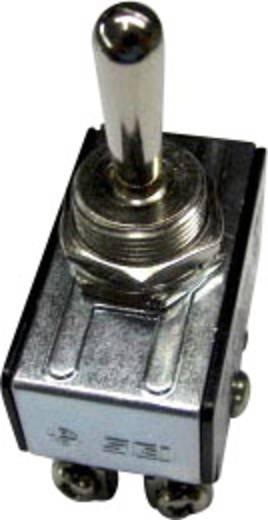 Kippschalter 250 V/AC 10 A 2 x Ein/Aus/Ein SCI R13-28E-06 rastend/0/rastend 1 St.