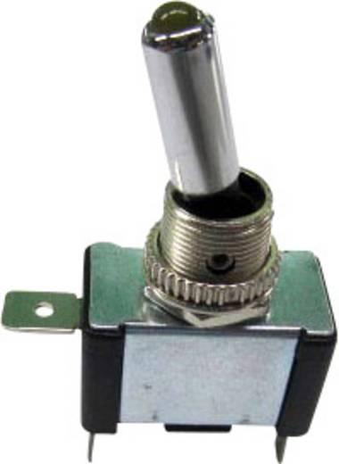 SCI Kfz-Kippschalter R13-404-SQ YELLOW 12 V/DC 20 A 1 x Aus/Ein rastend 1 St.