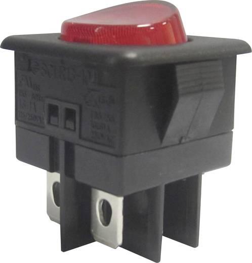 Wippschalter 250 V/AC 10 A 1 x Aus/Ein SCI R13-104B-01 rastend 1 St.