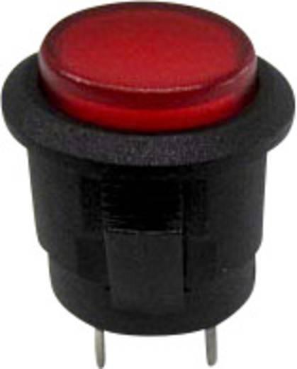 Druckschalter 250 V/AC 1.5 A 1 x Aus/Ein SCI R13-523BL-05RT rastend 1 St.