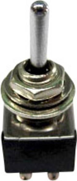 Interrupteur à levier 2 x On/Off/On TRU COMPONENTS TC-TA203A1 1587783 250 V/AC 3 A permanent/0/permanent 1 pc(s)