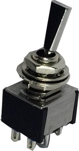 Kippschalter 250 V/AC 3 A 2 x Ein/Ein SCI TA202F1 rastend 1 St.