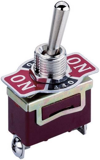 Kippschalter 250 V/AC 10 A 2 x Ein/Aus/Ein KN3 rastend/0/rastend 1 St.