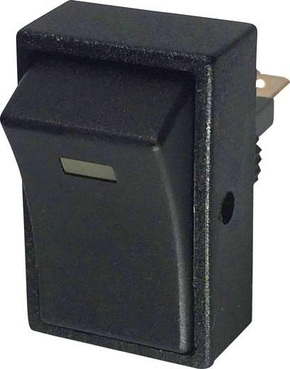 Kfz-Wippschalter 12 V/DC 20 A 1 x Aus/Ein rastend SCI R13-207L-SQ YELLOW 12V/DC 1 St.