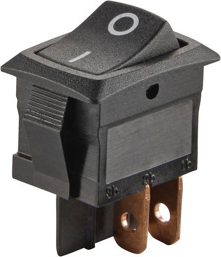 SCI Wippschalter R13-166PF-02 250 V/AC 6 A 2 x Aus/Ein rastend 1 St.