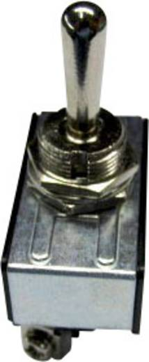 Kippschalter 250 V/AC 10 A 1 x Ein/Aus/Ein SCI R13-28D-06 rastend/0/rastend 1 St.