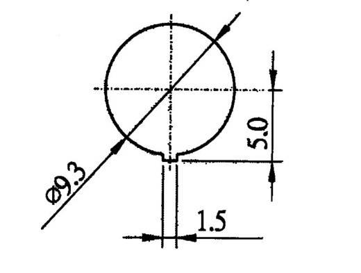 SCI R13-529BLRT Druckschalter 250 V/AC 0.5 A 1 x Aus/Ein rastend 1 St.