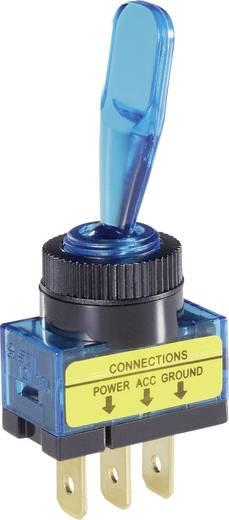SCI Kfz-Kippschalter R13-61B ILLUMINATED BLUE 12 V/DC 20 A 1 x Aus/Ein rastend 1 St.