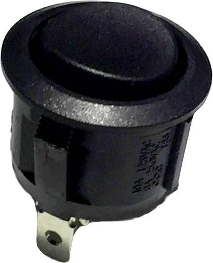 Wippschalter 250 V/AC 6 A 1 x (Ein)/Aus/(Ein) R13-112 tastend/0/tastend 1 St.