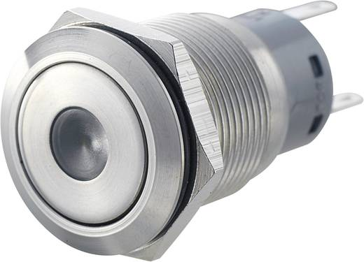 Vandalismusgeschützter Drucktaster 250 V/AC 5 A 1 x Ein/(Ein) LAS1-AGQ-11D, GN IP67 tastend 1 St.