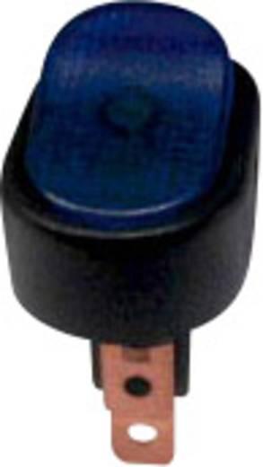 Kfz-Wippschalter 12 V/DC 30 A 1 x Aus/Ein rastend SCI R13-133B-01 B/BL BEL. 12 V 1 St.