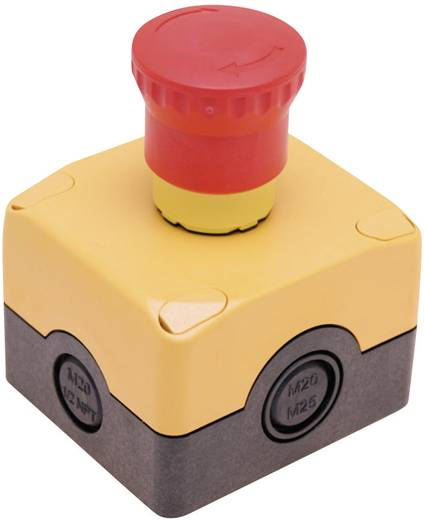 Not-Aus-Schalter im Gehäuse 250 V/AC 6 A 1 Öffner Pizzato Elettrica ES AC31003 IP67 1 Set