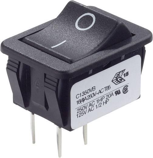 Wippschalter 250 V/AC 16 A 2 x Aus/Ein Arcolectric C1350VBAAF rastend 1 St.
