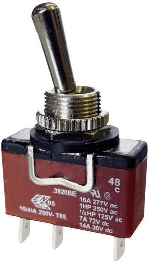 Kippschalter 250 V/AC 10 A 1 x (Ein)/Aus/Ein Arcolectric C3921BEAAA IP67 tastend/0/rastend 1 St.