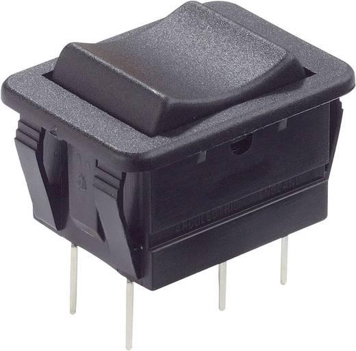 Wippschalter 250 V/AC 16 A 2 x (Ein)/Aus/(Ein) Arcolectric C1572VBAAC tastend/0/tastend 1 St.