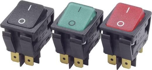 Arcolectric Wippschalter C6053ALNAF 230 V/AC 16 A 2 x Aus/Ein rastend 1 St.