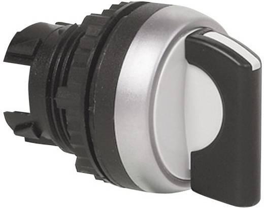 Wahltaste Frontring Kunststoff, verchromt Schwarz 1 x 90 ° BACO L21KF03 1 St.