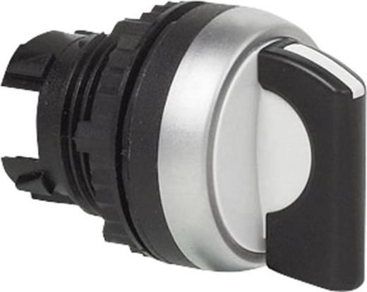 Wahltaste Frontring Kunststoff, verchromt Schwarz 2 x 45 ° BACO L21MA01 1 St.