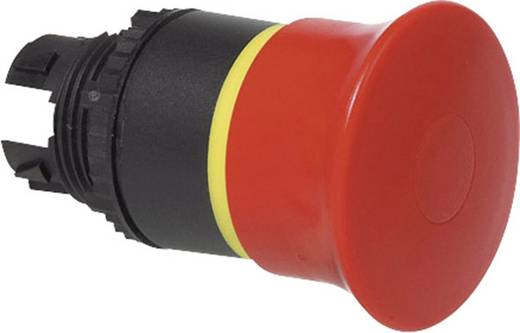 Pilztaster Frontring Kunststoff, Schwarz Rot Zugentriegelung BACO L22DR01 1 St.