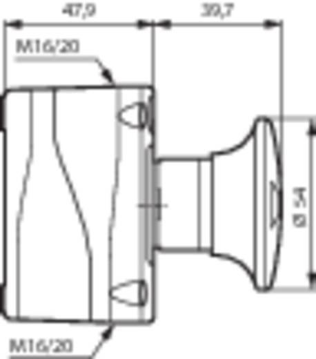 Pilztaster im Gehäuse 240 V/AC 2.5 A 1 Öffner BACO LBX14201 IP66 1 St.