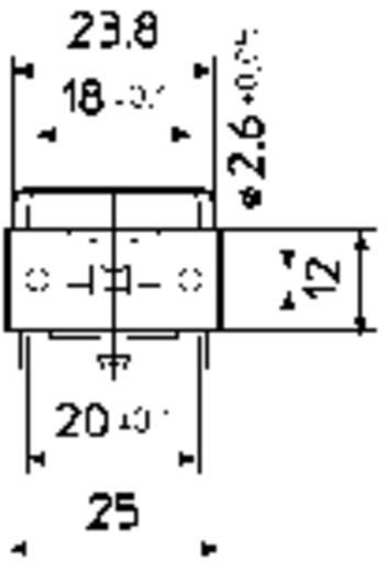 Netzschalter, Druckschalter 250 V/AC 4 A 2 x Aus/Ein Stelvio Chiapponi MSB 2000 rastend 1 St.