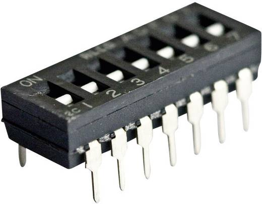 DIP-Schalter Polzahl 4 Standard TE Connectivity ADF0404 1 St.
