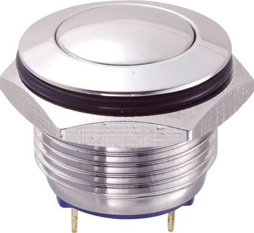 Vandalismusgeschützter Drucktaster 48 V/DC 2 A 1 x Aus/(Ein) GQ16B-10/J/S IP65 tastend 1 St.