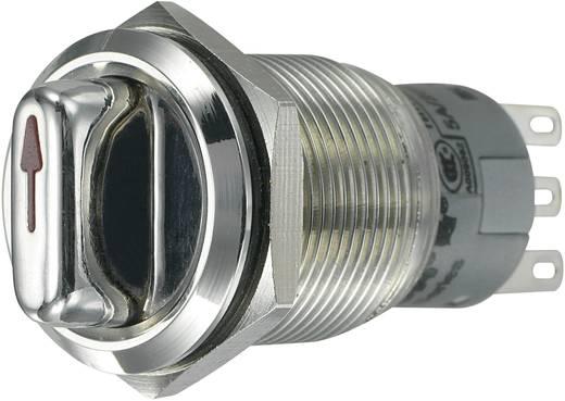 Vandalismusgeschützter Drehschalter 250 V/AC 3 A Schaltpositionen 2 1 x 90 ° TRU COMPONENTS LAS1-AGQ-11X/21 IP65 1 St.