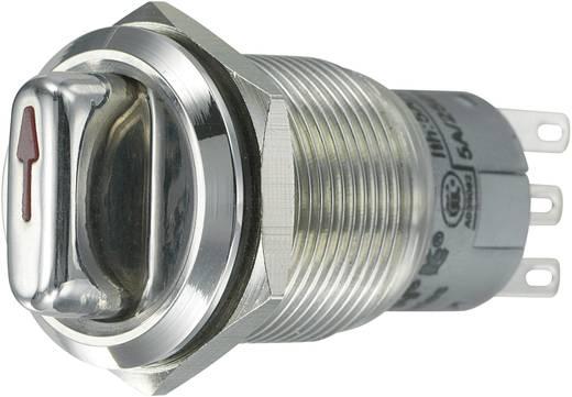 Vandalismusgeschützter Drehschalter 250 V/AC 3 A Schaltpositionen 2 1 x 90 ° TRU COMPONENTS LAS1-AGQ-22X/31 IP65 1 St.