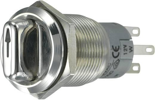 TRU COMPONENTS LAS1-AGQ-22XD/31/W Vandalismusgeschützter Drehschalter 250 V/AC 3 A Schaltpositionen 2 1 x 90 ° IP65 1 St