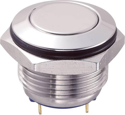 Vandalismusgeschützter Drucktaster 48 V/DC 2 A 1 x Aus/(Ein) GQ16F-10/J/S IP65 tastend 1 St.